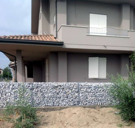 Gabbioni per recinzioni residenziali